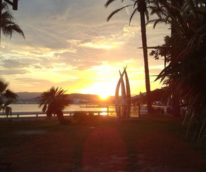 beach, cannes, and holiday image