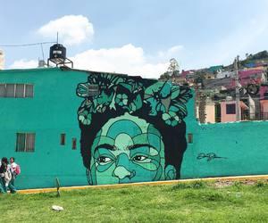 art, Frida, and street art image