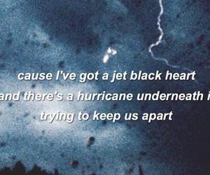 5sos, jet black heart, and Lyrics image