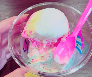 colorful, ice cream, and summer image