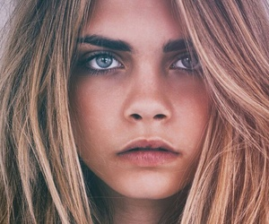 celebrities, cara delevingne, and face image