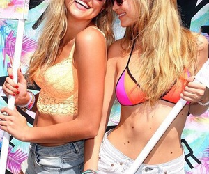 friendship, summer, and gigi hadid image