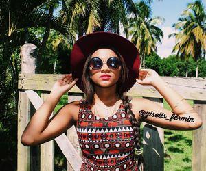 boho, girl, and fashion image