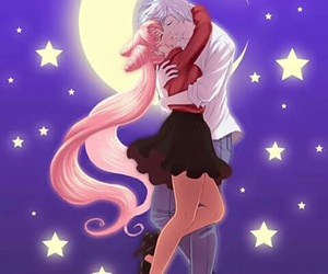sailor chibimoon, helios, and pegasus image