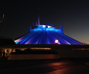 disney, space mountain, and tomorrowland image
