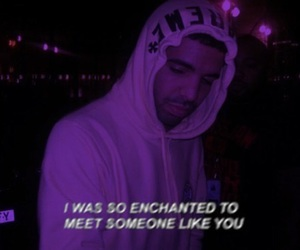 Drake, purple, and quotes image