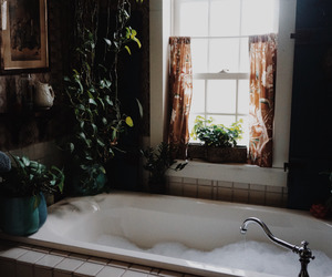 bath, home, and vintage image