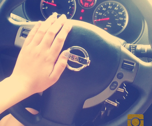 driving, nissan, and yolo image