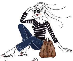 boho, pastel, and fashion image