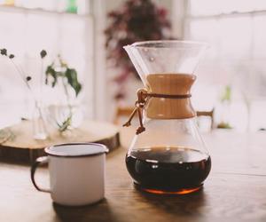chemex, coffee, and vintage image