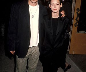 90s, johnny depp, and winona ryder image
