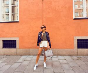 Balmain, brunette, and fashion image