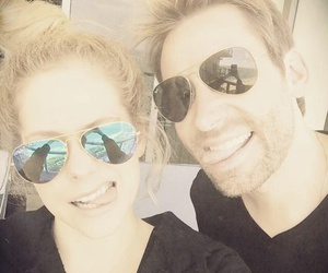 Avril Lavigne and chad krieh image