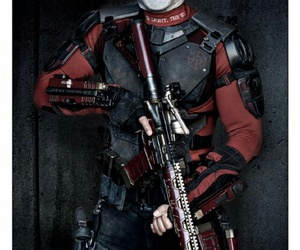 suicide squad, deadshot, and will smith image