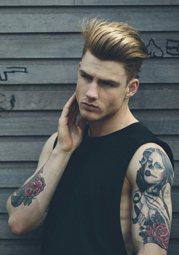 tattoo, boy, and sexy image