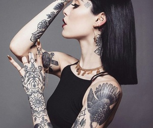 tattoo and hannah snowdon image