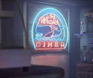 neon, oregon, and video game image
