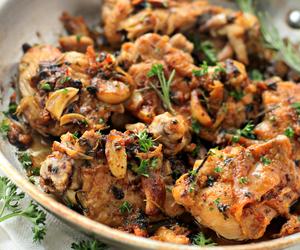 Chicken, garlic, and herb image