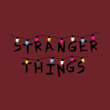 Stranger Things Christmas Lights.Image About Text In Stranger Things By Waywardmeg