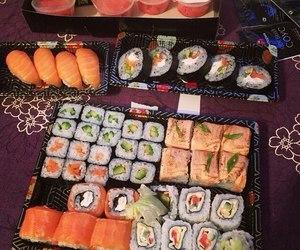 Роллы, еда, and суши image