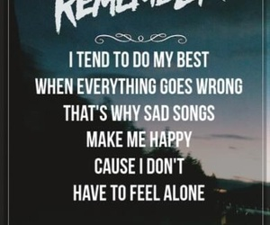 a day to remember, alone, and band image