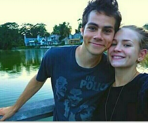 dylan o'brien, britt robertson, and couple image