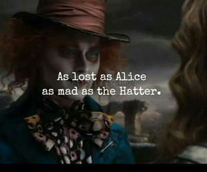 alice, alice in wonderland, and mad image