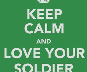 keep calm, military, and soldier image