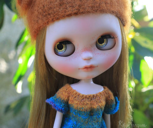 blythe, custom, and toy image