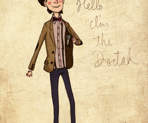 doctor who, drawing, and the doctor image