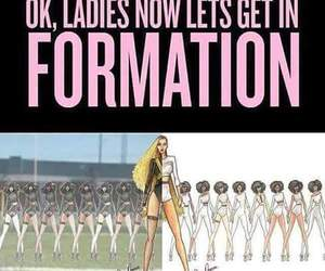 formation, queen bey, and mrs carter image