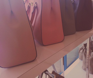 bags, pink, and girly image