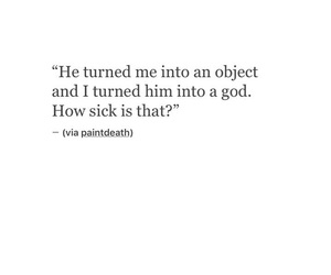broken, him, and quote image