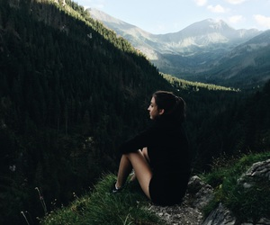 holidays, mountains, and view image