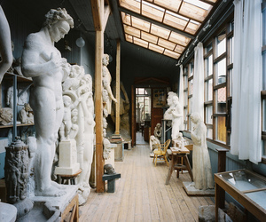 art, sculpture, and statues image