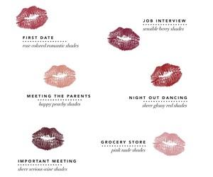 lipstick, lips, and kiss image