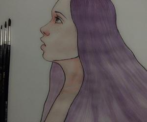 art, artwork, and sketch image