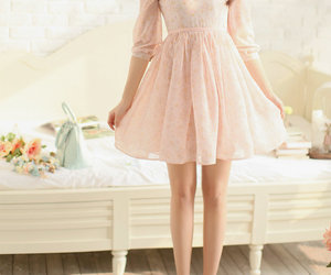 fashion, dress, and cute image