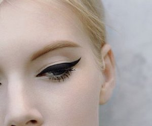 make up, makeup, and eyeliner image
