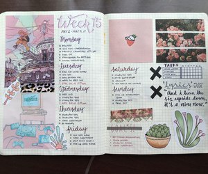 journal, notebook, and tumblr image