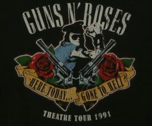 Guns N Roses, band, and axl rose image