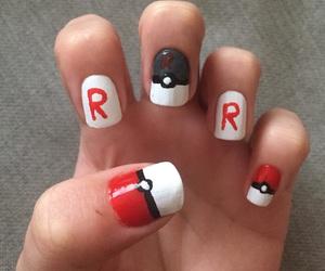 nail art, pokemon, and nails image