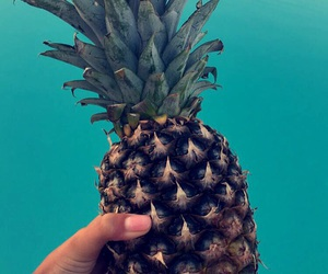 food, fruit, and pinapple image