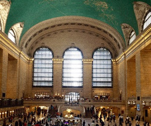 gold, subway, and grandcentral image