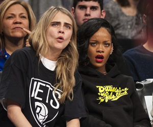 rihanna, cara delevingne, and model image
