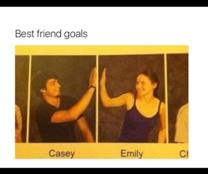 goals, bff, and funny image