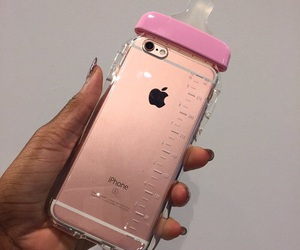 iphone, pink, and cry baby image