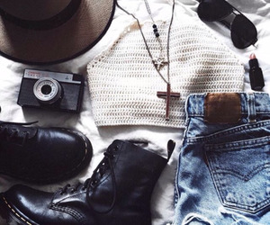 fashion, hipster, and summer image