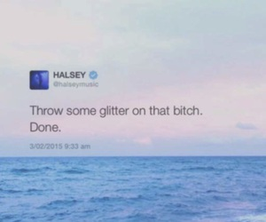 twitter and halsey image