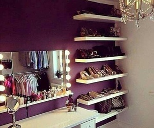 room, shoes, and mirror image